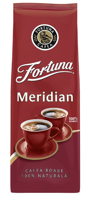 FORTUNA MERIDIAN Cafea Boabe, 1 kg